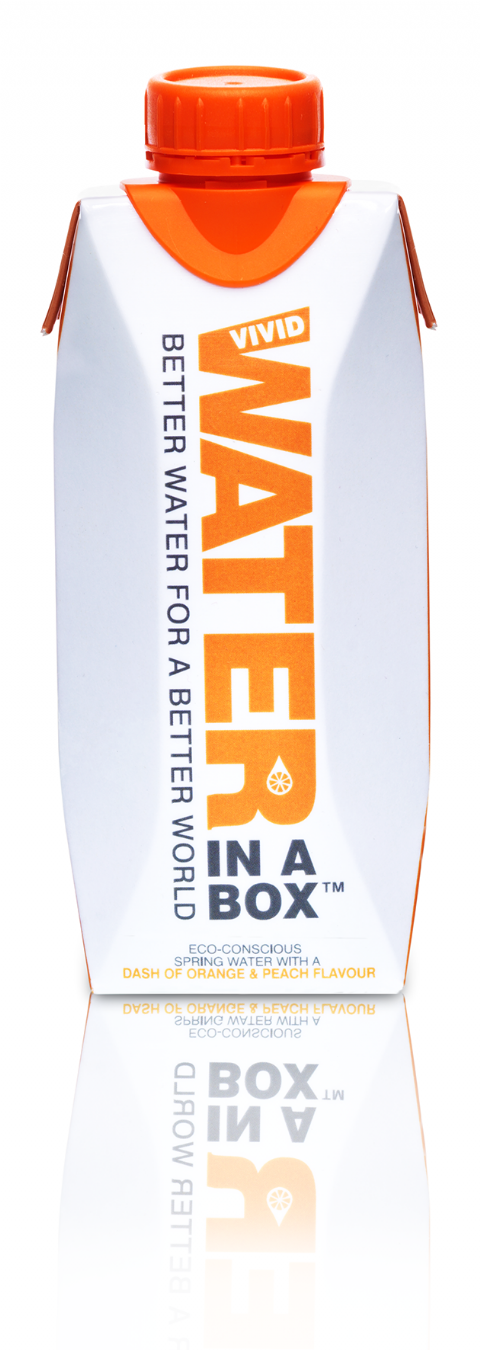 Water in a Box Orange & Peach 330mlx12